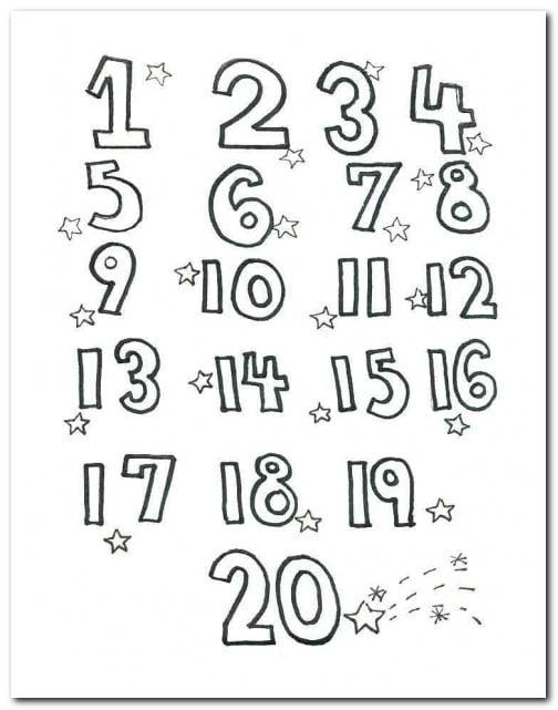 çocuklar Için En Iyisi Okul öncesi 9 Rakamı Boyama