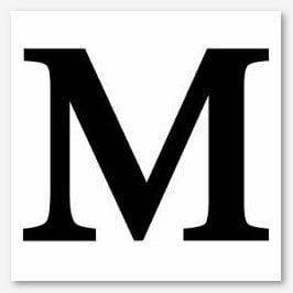 M Harfi Hakkında Bilgi Yucex