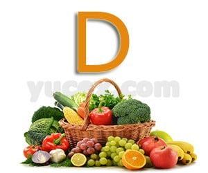 D harfiyle başlayan bitkiler sebzeler ve meyveler